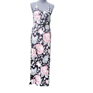 LOFT Floral Casual Maxi Long Dress